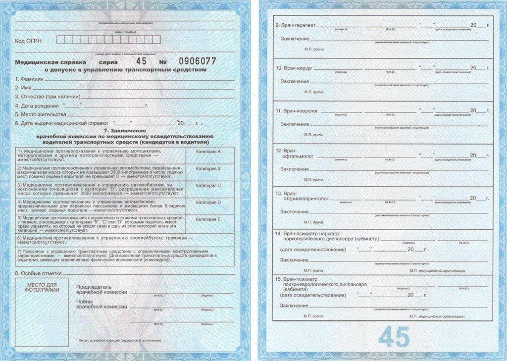 военный билет и водительские права