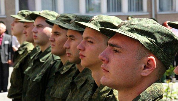 сына забирают в армию